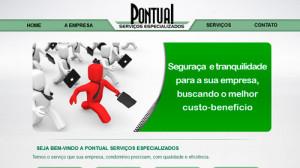 Pontual Serviços - Site