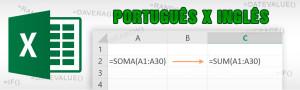 Tradução das Funções do Excel