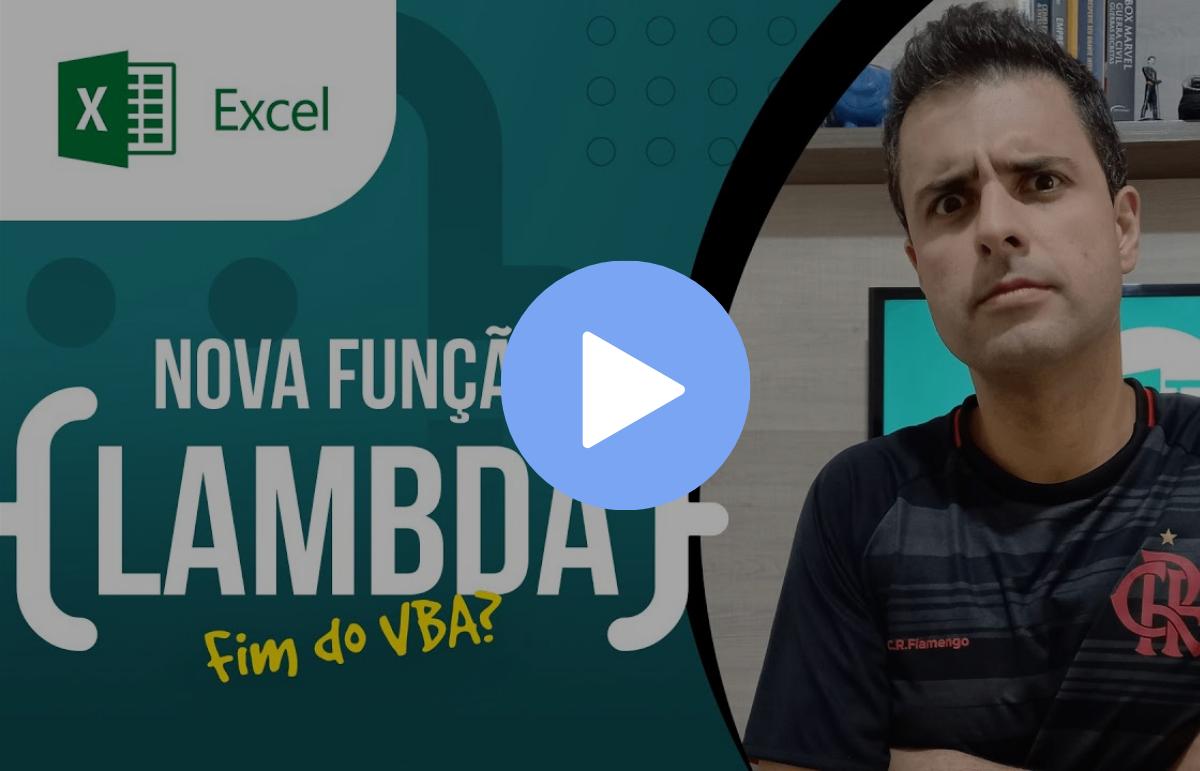 A nova função LAMBDA no Excel